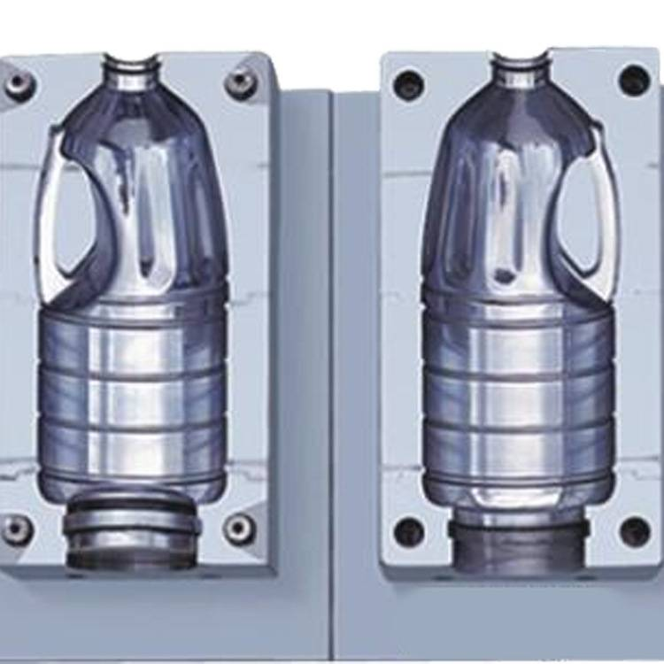 DDW 1000 ml edible oil bottle 2 cavity PET Blow Mould with good quality& competitive