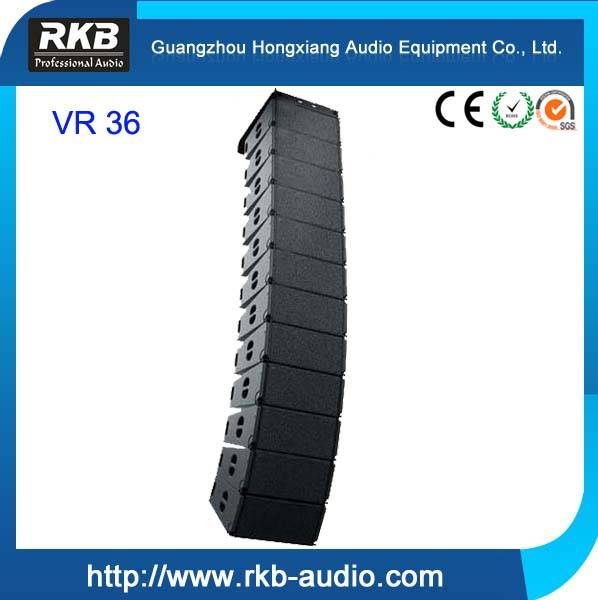 VR-36 double 10 inch outdoor sound system passive line array speaker