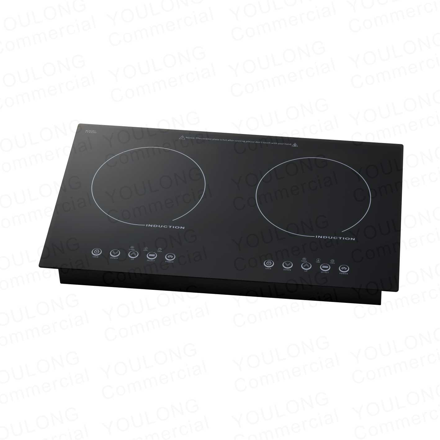 induction cooker(2 burner) DI-350 Touch Control