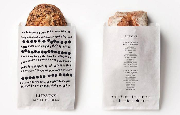 Fast Food foil paper bags