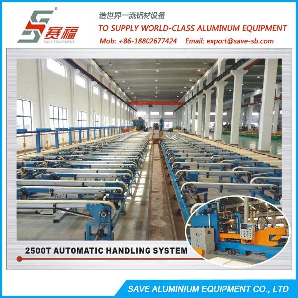 Aluminium Extrusion Profile Belt Type Automatic Handling System