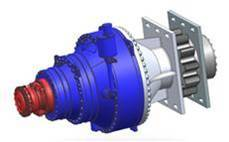 Offshore Platform Gearbox-Two-stage Planetary Gearbox for Hydraulic Lifting Platform
