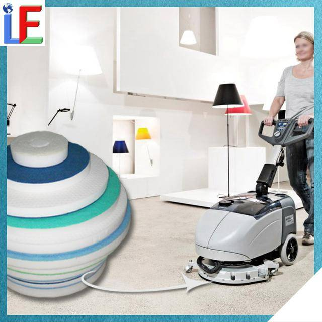 Muti-Function No Hurt Hands Products Melamine Foam Floor Cleaning Sponge
