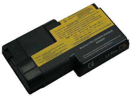 High-Capacity Laptop Battery for IBM 02K6620
