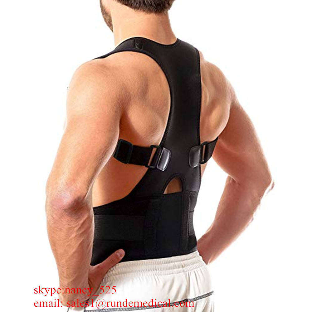 2018 Unisex comfortable Shoulder Clavicle Upper back posture corrector Support Brace