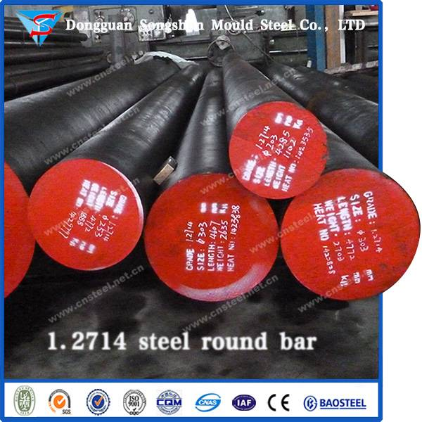Hot Work Tool Steel 1.2714 Steel Round Bars