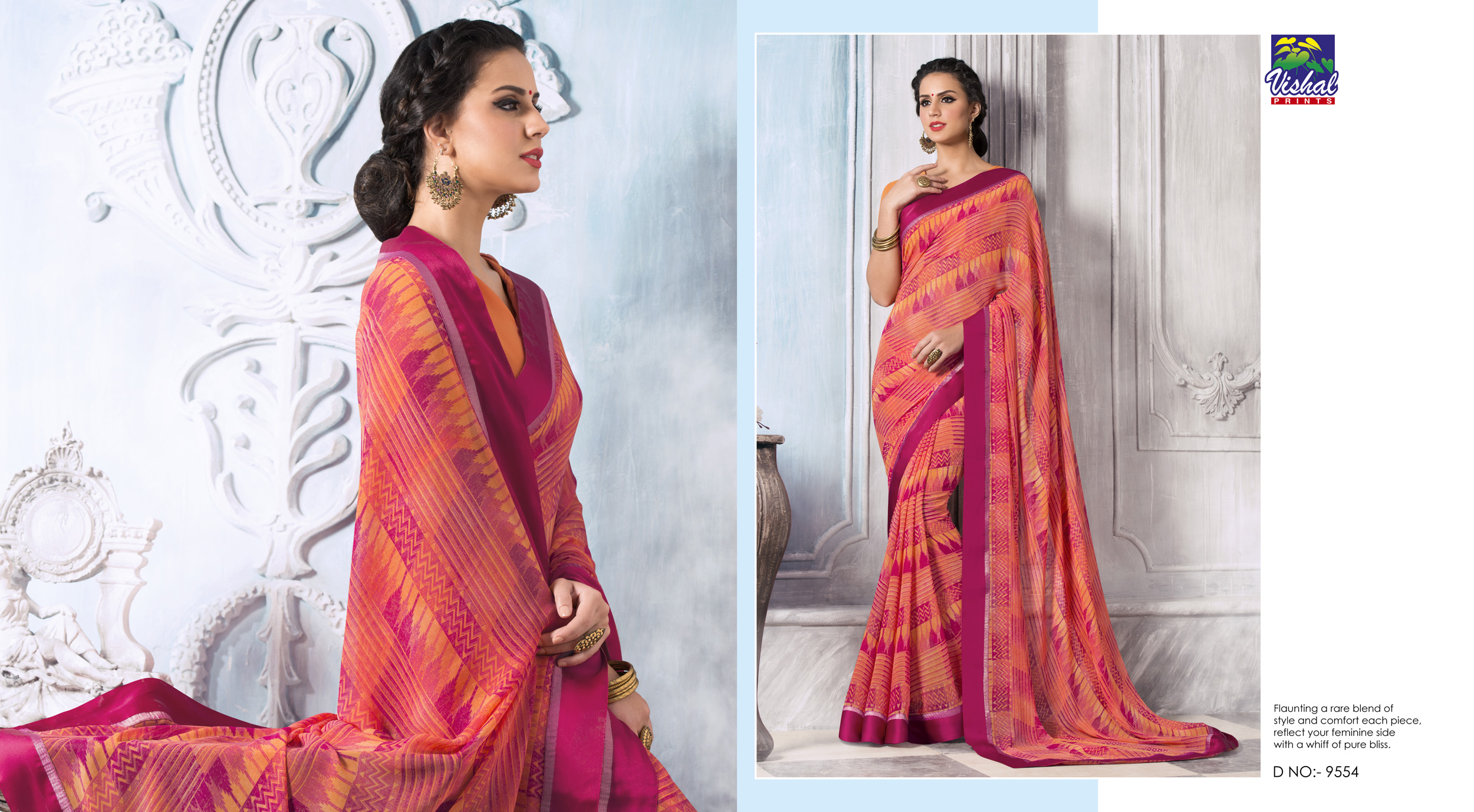 Vishal Designer Saree