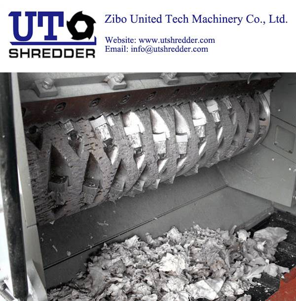 Single Shaft Shredder Crusher S2250 for plastic, wood, metal, cable, paper crusher recycling