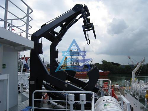 A Frame Rescue Boat Davit