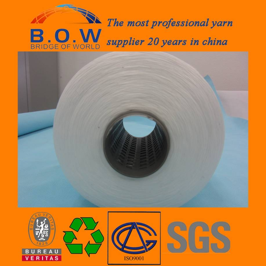 New/Cheap 100 spun polyester yarn for sewing thread