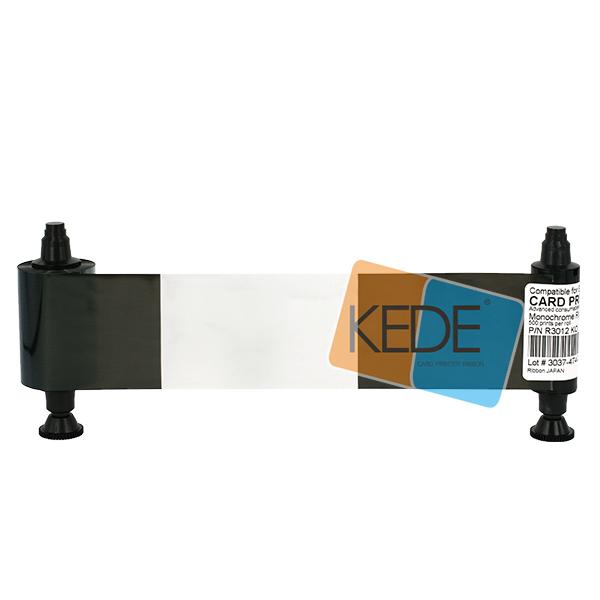 Compatible Ribbon for Evolis R3012 KO Pebble 4 Printer with 500 prints