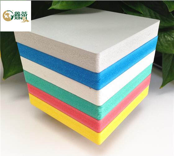 Colored PVC foam board sheets