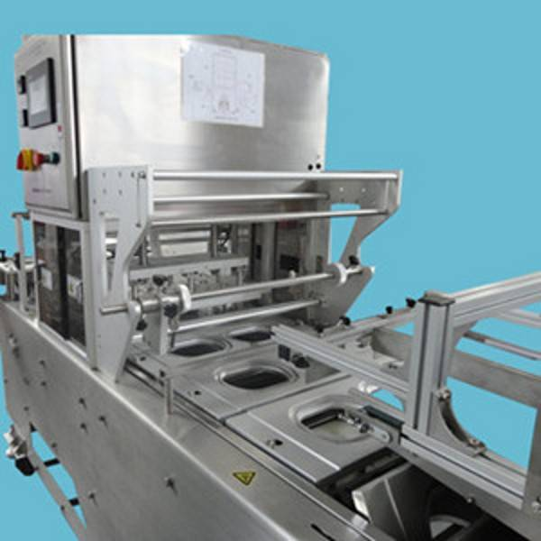 plc control aluminium alloy design excellent quality sealer machine for vegetable
