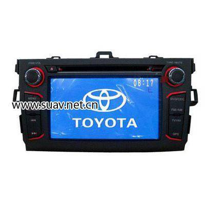 TOYOTA Corolla Car DVD player with TV,bluetooth,GPS navigation