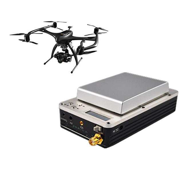 wireless microwave nlos long range uav mini cofdm video transmitter