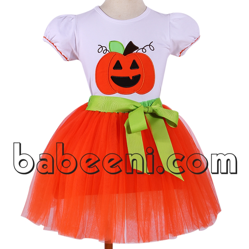 Halloween tutu dress set for girl - DR 2321