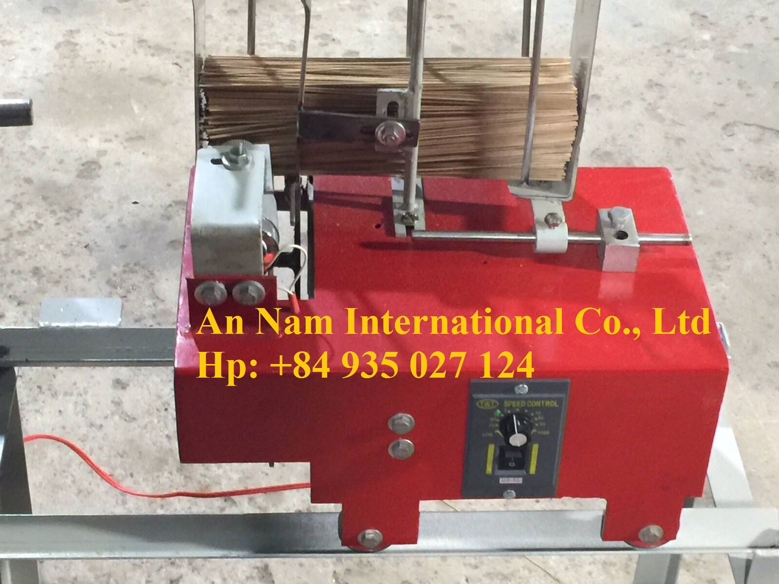 Auto feeder for incense making machine + 84 935 027 124 / Viber/WhatsApp/