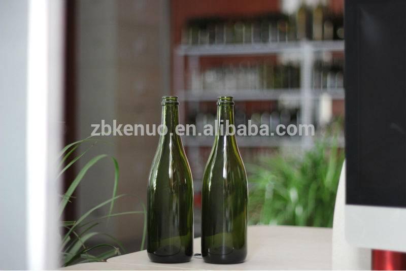 750ml champagne wine glass bottle