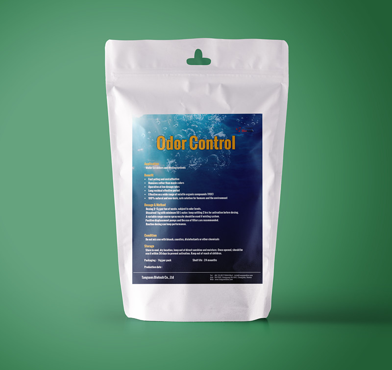 Odor control for solid waste management and landfill management