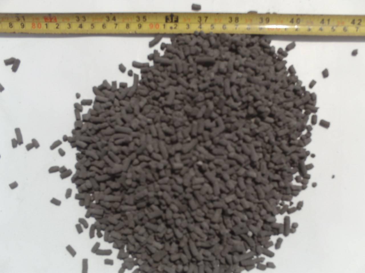 palm bunch ash pellet