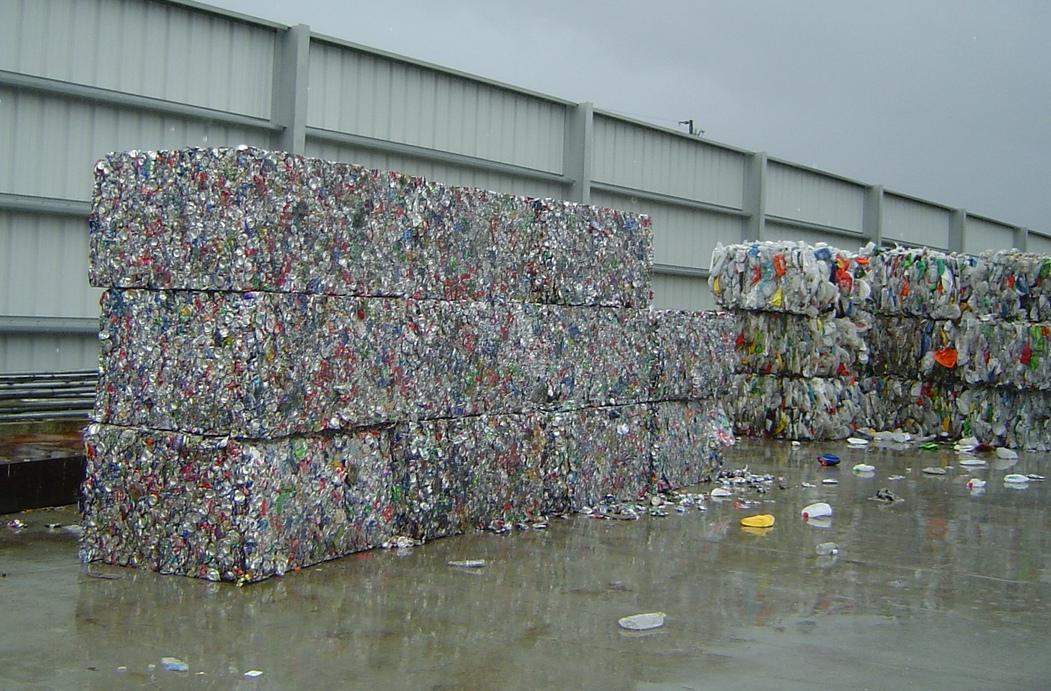 Scrap aluminum UBC