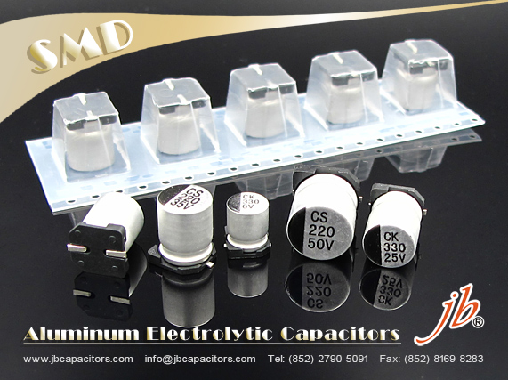 JCK - 1000H at 105°C SMD Aluminum Electrolytic Capacitor
