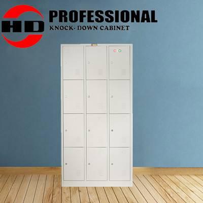 12 doors metal filing cabinet