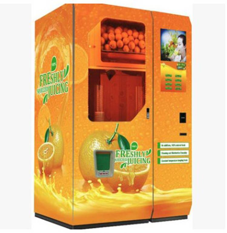 Orange Juice Drink Vending Machine China Wholesale