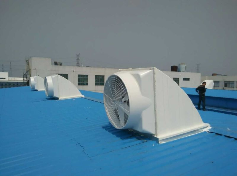 Roof mounted exhaust fan 380V industrial air blower