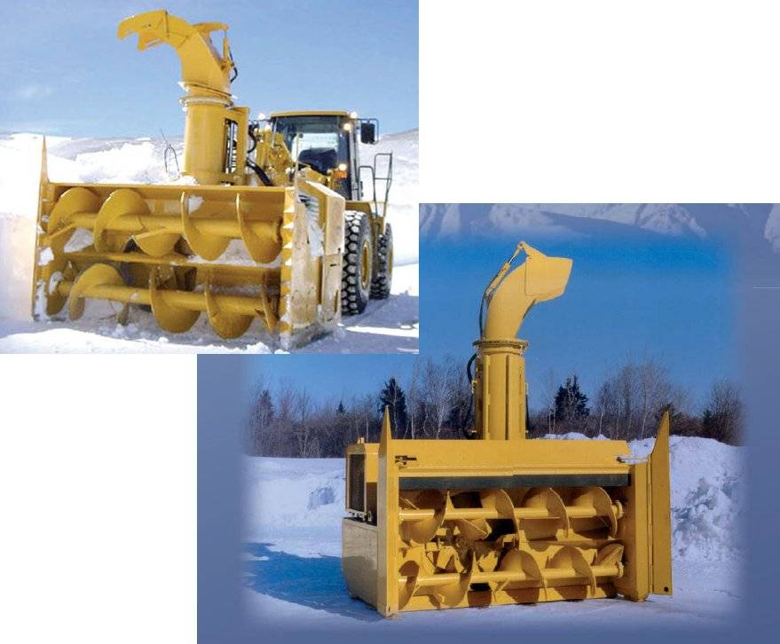 Snow throwing machine
