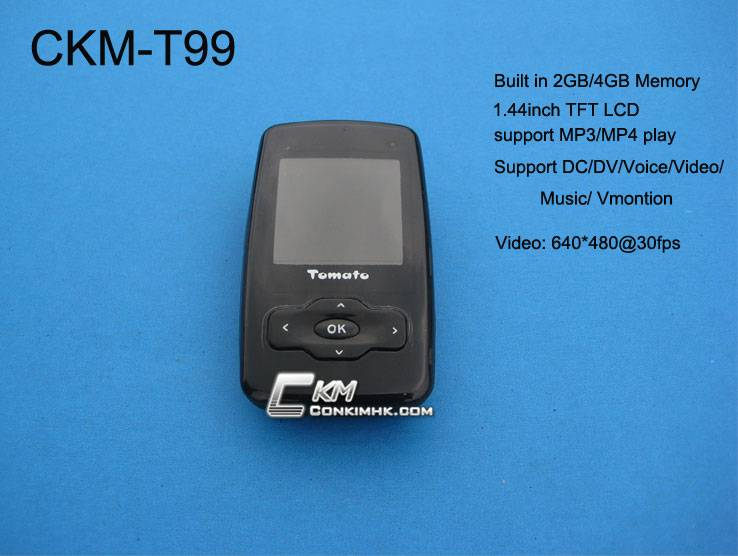 mini camcorder with mp3/mp4 play function