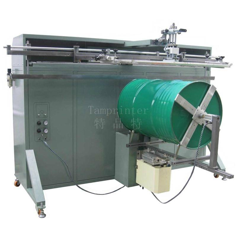 210L big keg screen printing machine