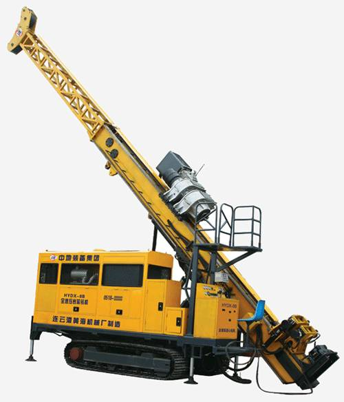 HCR-8 full hydraulic core drilling rig with 3000m drilling depth