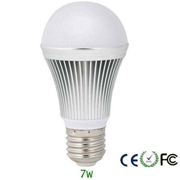 7W LED Bulb lamps E27 Base china manufacturer india price