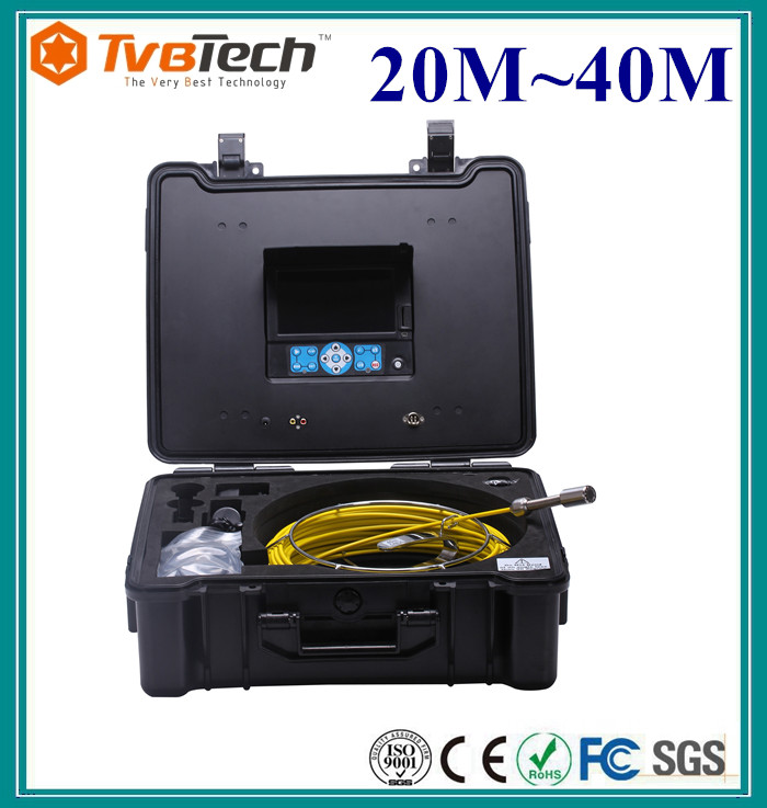 TVBTECH 3199F pipe sewer drain camera plumbing equipment