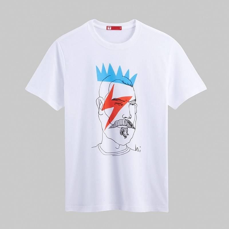Punk Short Sleeve T-shirt (Men) White
