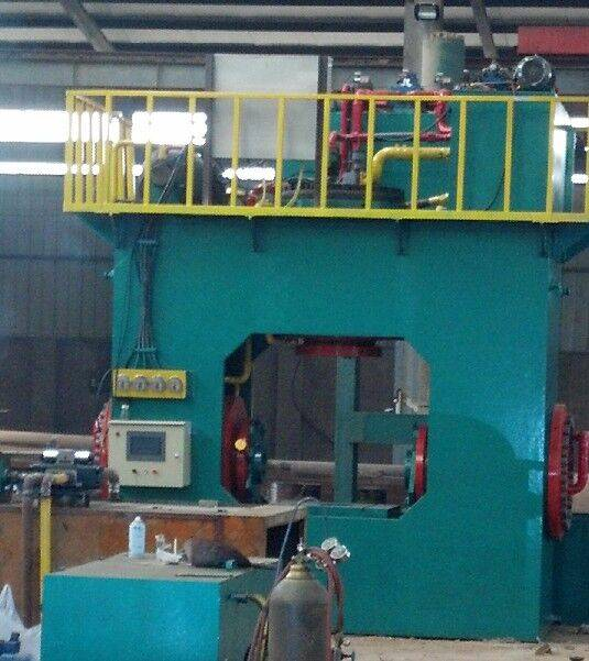 large diameter tee machine