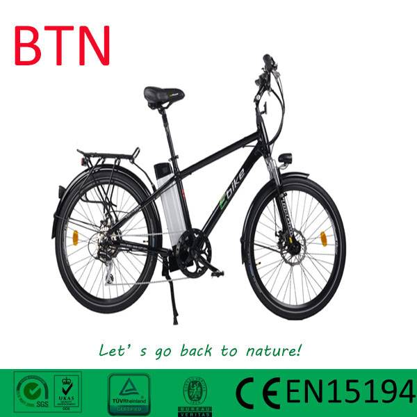 26inch mountain e bicycle with rack