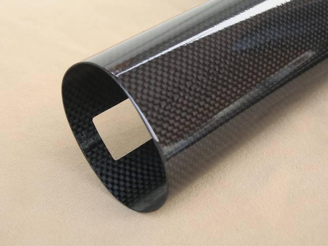 3k plain carbon fiber tube/pole/pipe