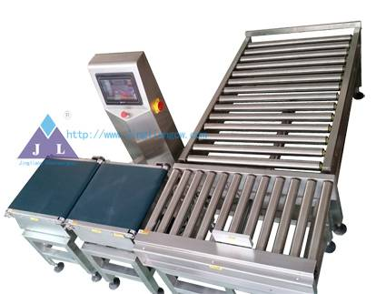 High accuracy weight sorting machine check weigher JLCW-15