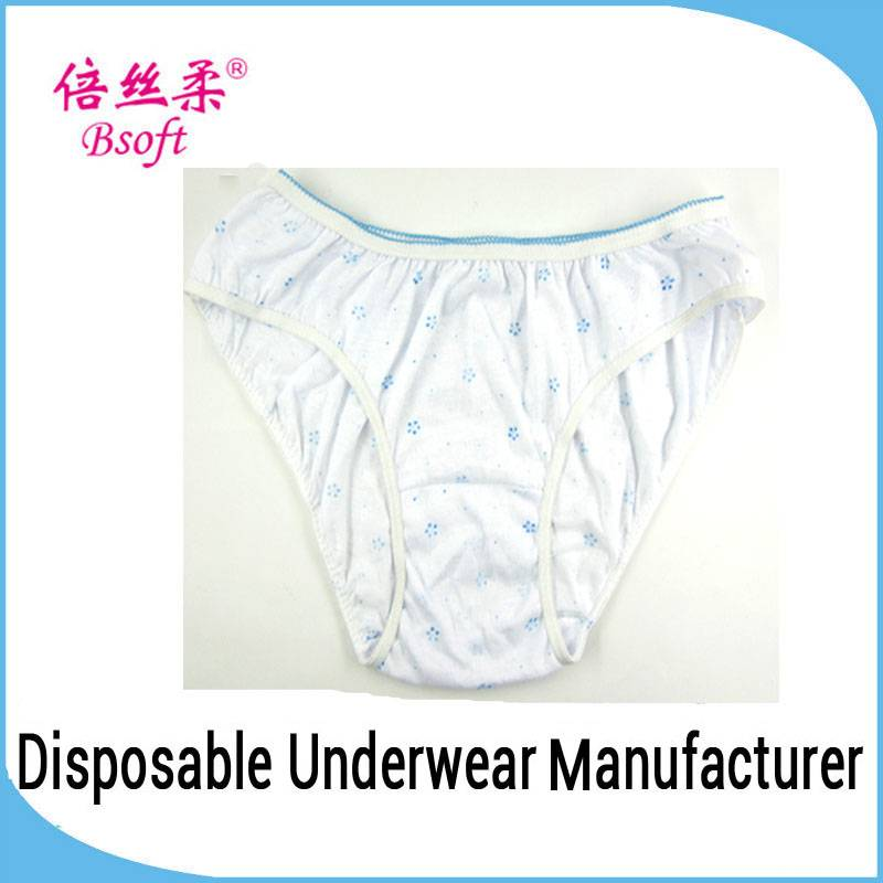 Original fashion brand women's panties for traveling with printing