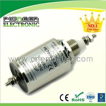 PE7000-2-M3 1~250A feedthrough capacitor emi emc filter