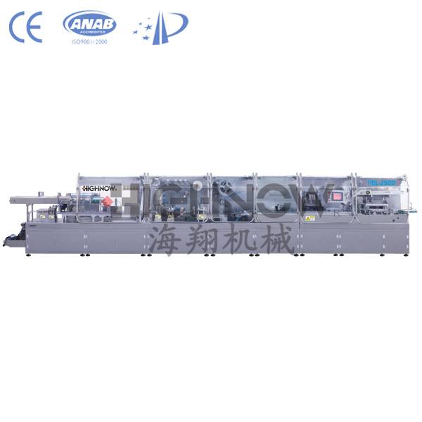 PBL-250D Automatic Ampoule/Vial Double Feeder Packing Line