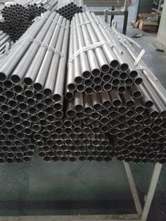 ASTM B 338 seamless pure titanium pipe