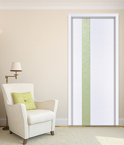 HONMAX modern fashion house composite wood door with concise style