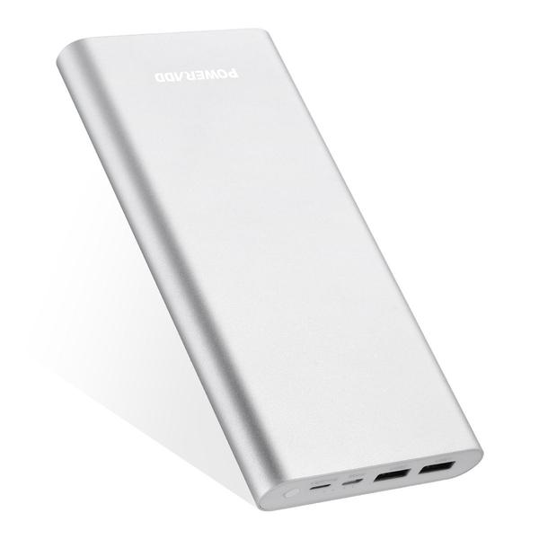 Tablet / Cell Phone Power Bank Portable Charger With Lightning Cable