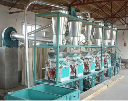 Wheat Mill Machine 20tpd 30tpd 50tpd 80tpd 150tpd 200tpd