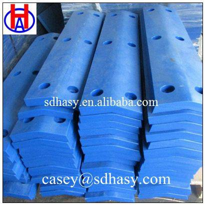 Durable and customized UHMWPE fender face pad