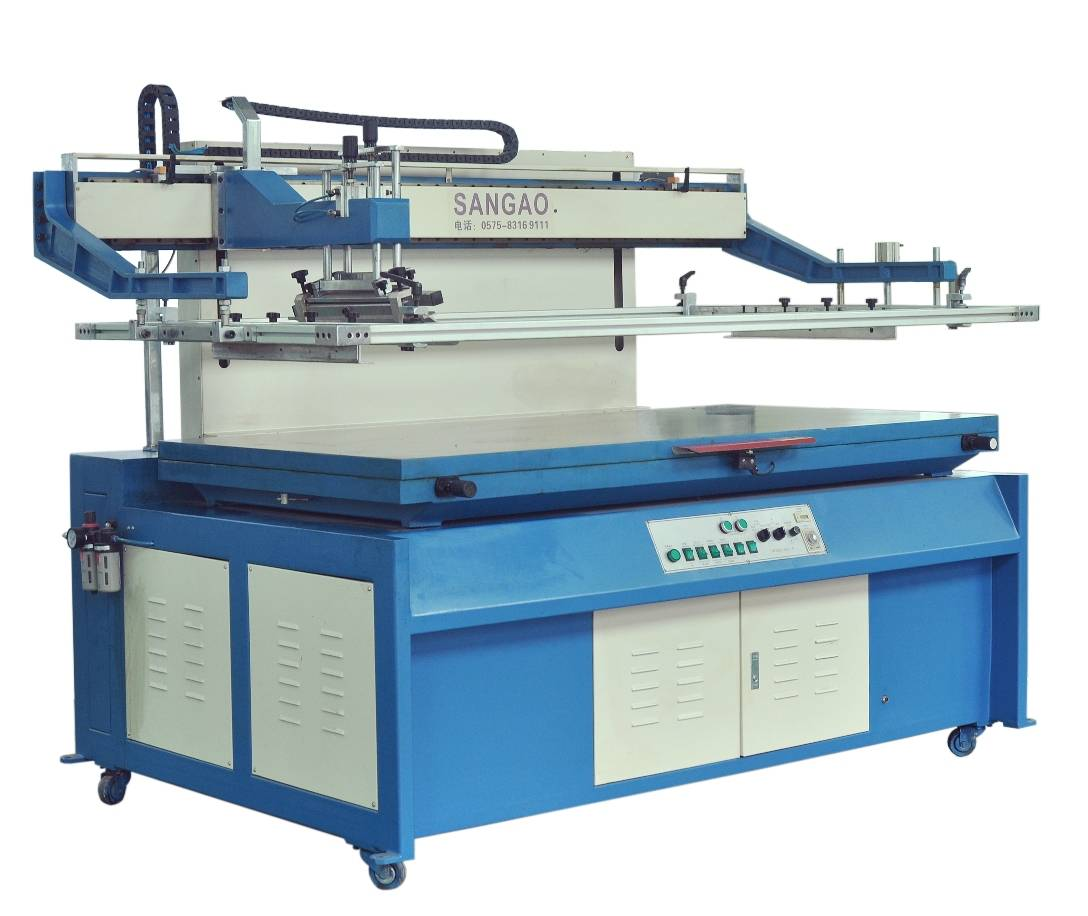 High Precision Flat Vertical Screen Printing Machine
