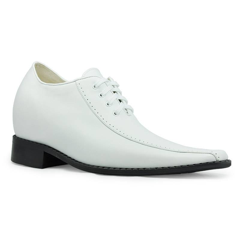 Europe shoes styles-genuine leather dress shoes for men,groom, wedding - grow taller 8CM invisibly